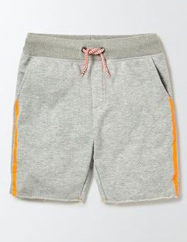 Grey Marl Jaspé Jersey Shorts