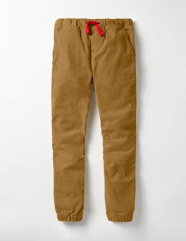 Classic Gold Needlecord Cord Joggers