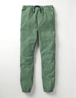 Vert Wellington Velours Milleraies Pantalon de jogging en velours côtelé