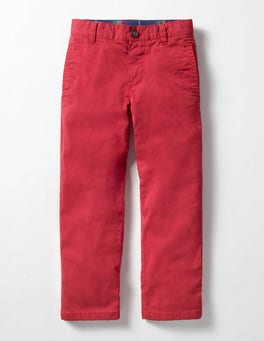 Engine Red Lined Chinos