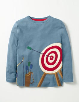 Horizon Blue Target Noble Knight T-shirt