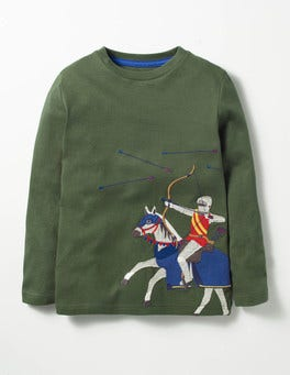 Willow Green Archer Noble Knight T-shirt