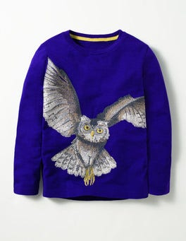 Howlin Blue Owl Mythical Superstitch T-shirt