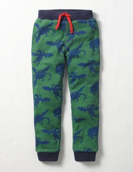 Willow Green Dragons Cosy Lined Joggers