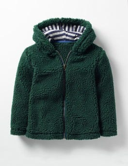 Wellington Green Cosy Borg Jacket
