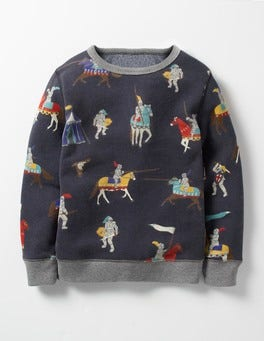 Navy Medieval Knights Hero's Tale Sweatshirt