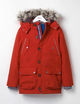 Beatnik Red The Parka