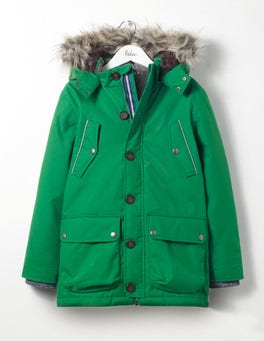 Crocodile Green The Parka