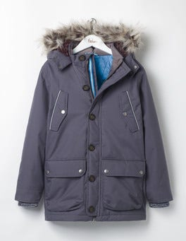 London Grey The Parka