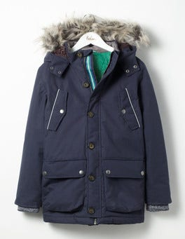 Navy The Parka