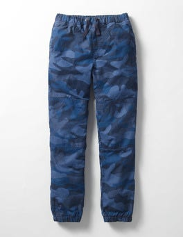 Fleece-lined Techno Pants