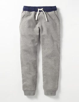 Grey Marl Shaggy-lined Joggers