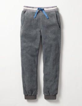 Charcoal Grey Marl Microfleece Joggers