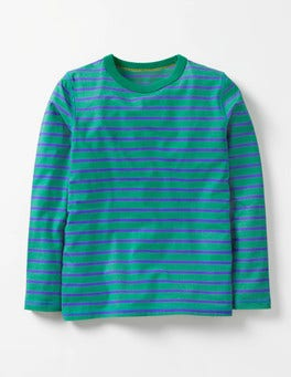 Wild Green/Gymnasium Blue Supersoft T-shirt