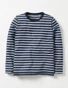 Navy/Ecru Supersoft T-shirt