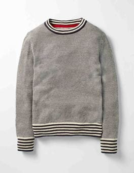 Navy Cosy Crew Sweater