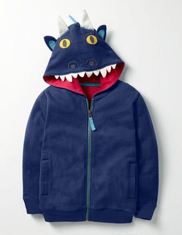 Beacon Blue Dragon Dragon Zip-up Hoodie
