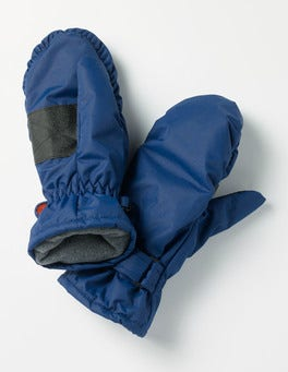 Beacon Blue Ski Mittens