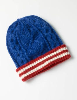 Klein Blue Knitted Hat