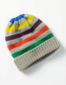 Grey Marl Knitted Hat