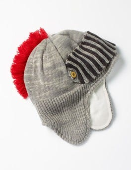 Grey Marl Knight Hat