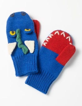 Dragon Mittens