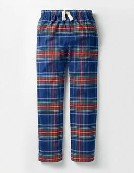 Starboard Blue/Red Check Brushed Check Bottoms