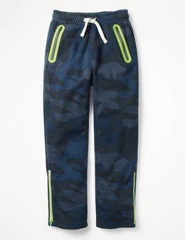 Navy Camo Active Track Pants