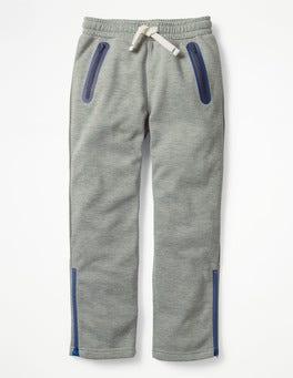 Grey Marl Active Track Pants