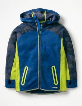 Orion Blue Active Zip-up Hoodie