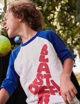 Space Wordle Raglan T-shirt