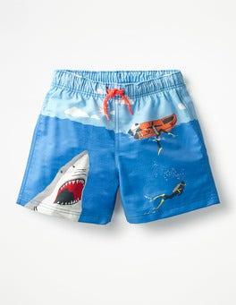 Skipper Blue Shark Attack Bathers