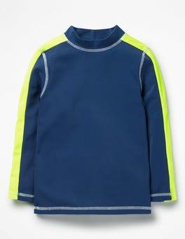 Deep Sea Blue Rash Vest