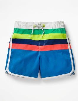 Electric Blue/Lemonade Multi Surf Shorts