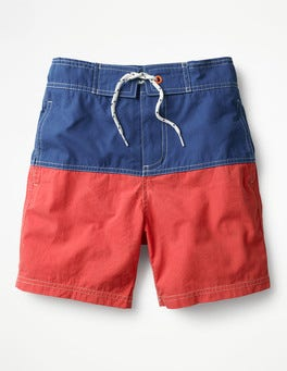 Jam Red/Orion Blue Poolside Shorts