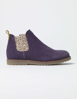 Misty Purple Chelsea Boots