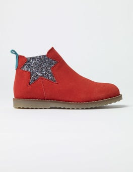 Jam Red Chelsea Boots