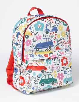 Blooming Traffic Printed Rucksack