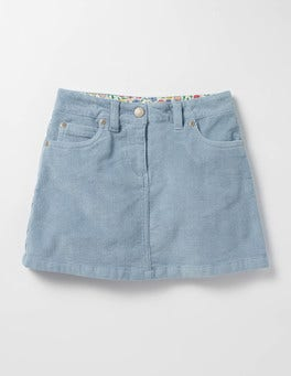 Wren Blue Heart Pocket Skirt