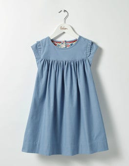 Wren Blue Pretty Cord Dress