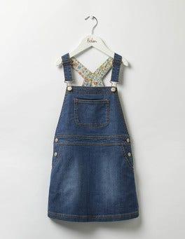 Mid Vintage Adventure Dungaree Dress