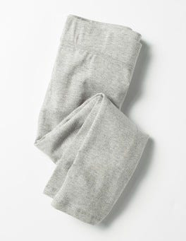Grey Marl Essential Cropped Leggings