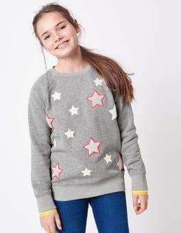 Star Bouclé Sweatshirt