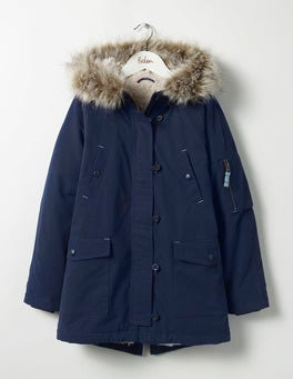 School Navy The Parka