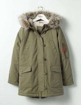 Utility Green The Parka