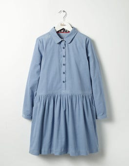 Wren Blue Shirt Dress