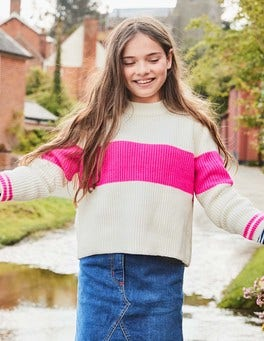 Stripy Boxy Jumper