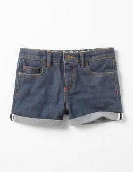 Mid Vintage Turn-up Shorts