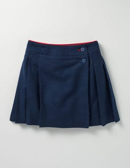 School Navy Kilt