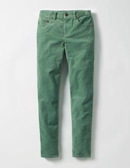 Csarite Green Skinny Cord Trousers